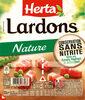 HERTA Lardons nature cons.sans nitrite - Produit