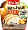 HERTA Filet de poulet rôti cons.sans nitrite - Producto