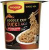 Noodle cup duck - Produkt