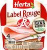 HERTA Label Rouge conservation sans nitrite - Product