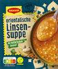 Orientalische Linsen-Suppe - Produkt