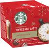 STARBUCKS Toffee Nut Latte édition limitée - Produit