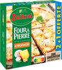 BUITONI FOUR A PIERRE pizza surgelée 4 Fromages MAXI 3X330g - Prodotto