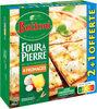 BUITONI FOUR A PIERRE Pizza surgelée 4 Fromages 2+1 offerte (3X330g) - Produit