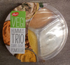 Hummus Trio curry, olive, pomodori - Produit