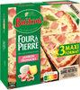 BUITONI FOUR A PIERRE pizza surgelée Jambon Fromages MAXI 3x315g - Produit