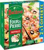 BUITONI FOUR A PIERRE Pizza surgelée Royale 2+1 offerte (3x335g) - Product