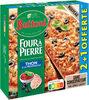 BUITONI FOUR A PIERRE pizza surgelée Thon à la Provençale 3x320g (2+1 offerte) - Produit