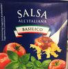 Salsa All'Italiena Basilico - Produit