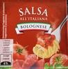 Salsa all'italiana Bolognaise - Produit
