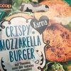 Crispy Mozzarella Burger , Mit Tomaten - Produit