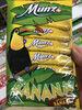 Munz banana - Produit
