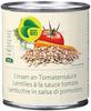 Lentils with tomato sauce - Produit