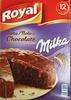Tarta de chocolate con Milka - Producte