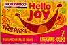 Hello joy - Chewing-gums parfum cocktail de fruits - Produit