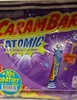 Carambar atomic- Confiseries aromatisées parfums assortis - Produit