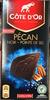 Chocolat noir aux noix de pécan caramélisées salées - Produit