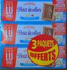 Petit Ecolier Biscuits chocolat au lait les 6 paquets de 150 g - Product
