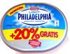 Philadelphia light (+20% gratis) - Produto