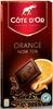 Côtes d'Or Orange Noir 70 % - Produit