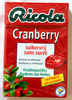 Bonbons Cranberry - Produit