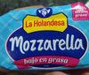 queso mozarella holandesa - Product