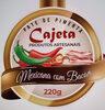 Pate de Pimenta Mexicana com Bacon - Produto