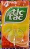 Tic Tac goût Orange - Produit