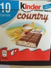 Kinder Country - 10 barres - Product