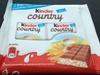 Kinder country - Barres individuelles au chocolat au lait et aux céréales - Produit