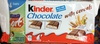 kinder chocolate with cereals - Produit