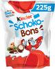 Kinder schokobons bonbons de chocolat au lait fourres lait et noisettes sachet - Product