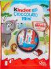 Kinder chocolat mini chocolat superieur au lait fourre lait sachet de 20 pieces - Producto