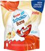 Kinder schokobons white bonbons de chocolat blanc fourres lait et noisettes sachet - Produit