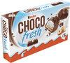 Kinder chocofresh gouter frais chocolat superieur au lait fourre lait et noisette t5 pack de 5 etuis - Продукт