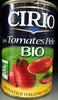 Les Tomates Pelées bio - Produit