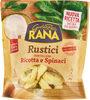 Rustici tortelloni ricotta e spinaci - Produit