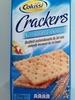 Non salati Unsalted Crackers - Prodotto