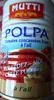 Polpa Tomates concassées fines à l'ail - Product