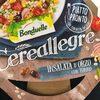 Cereallegre Insalata d'orzo con tonno - Prodotto