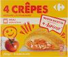 Crêpes mozzarella e pomodoro surgelate - Produit