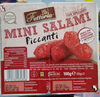 Mini salami piccanti - Produit