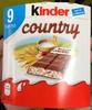 Kinder Country - 9 barres - Prodotto