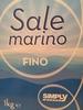 Sale marino - Produkt
