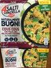 Couscous con pollo, ceci, melanzane e zucchine - Produit