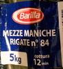 Mezze maniche rigate n°84 - Produit