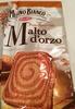 Fette Biscottate al Malto d'Orzo - Prodotto
