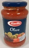 Tomato sauce with green and black olives - Product