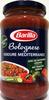 Bolognese verdure mediterranee - Produit