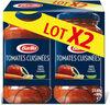 Sauce tomates cuisinées - Produit